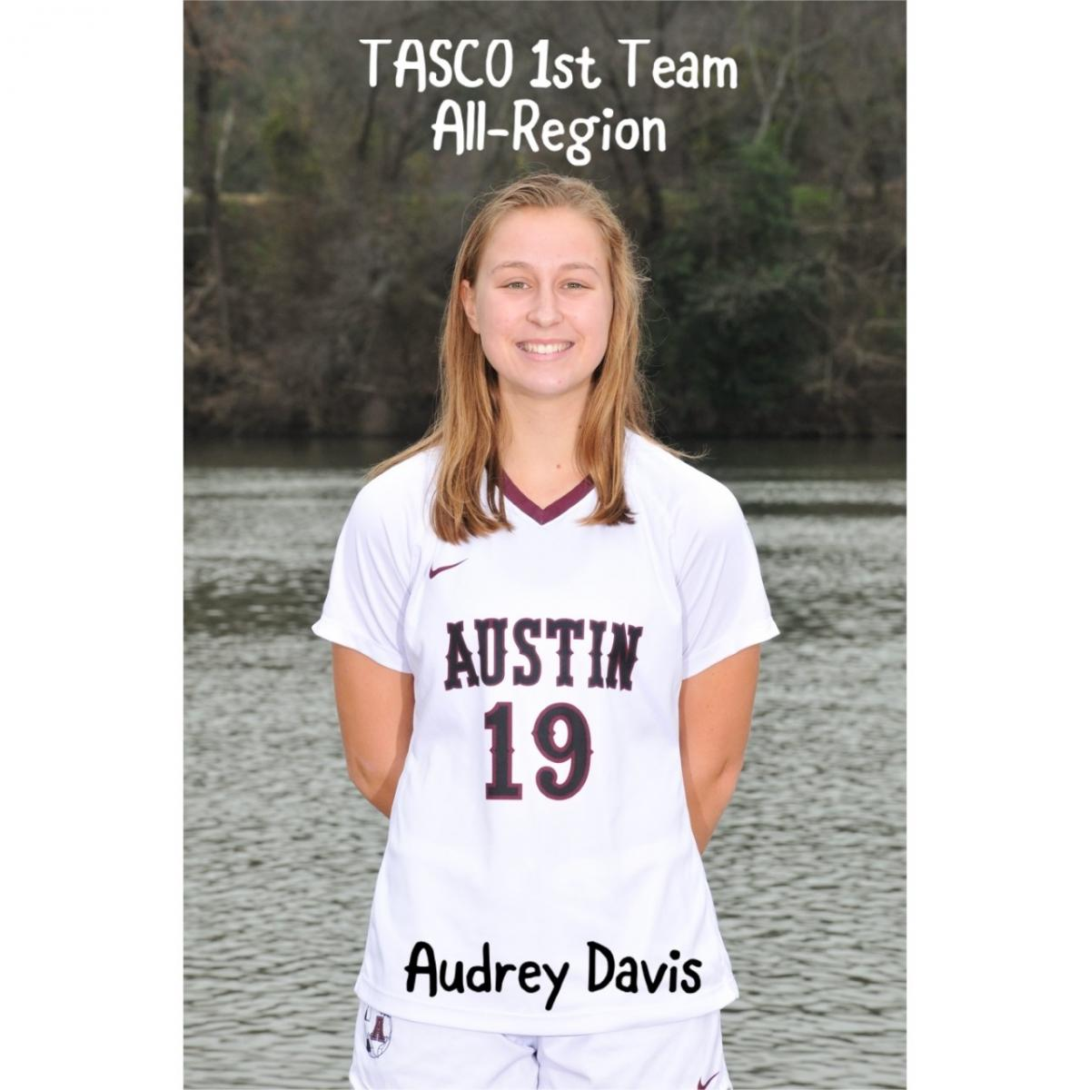 Audrey Davis named to TASCO All-Region Team