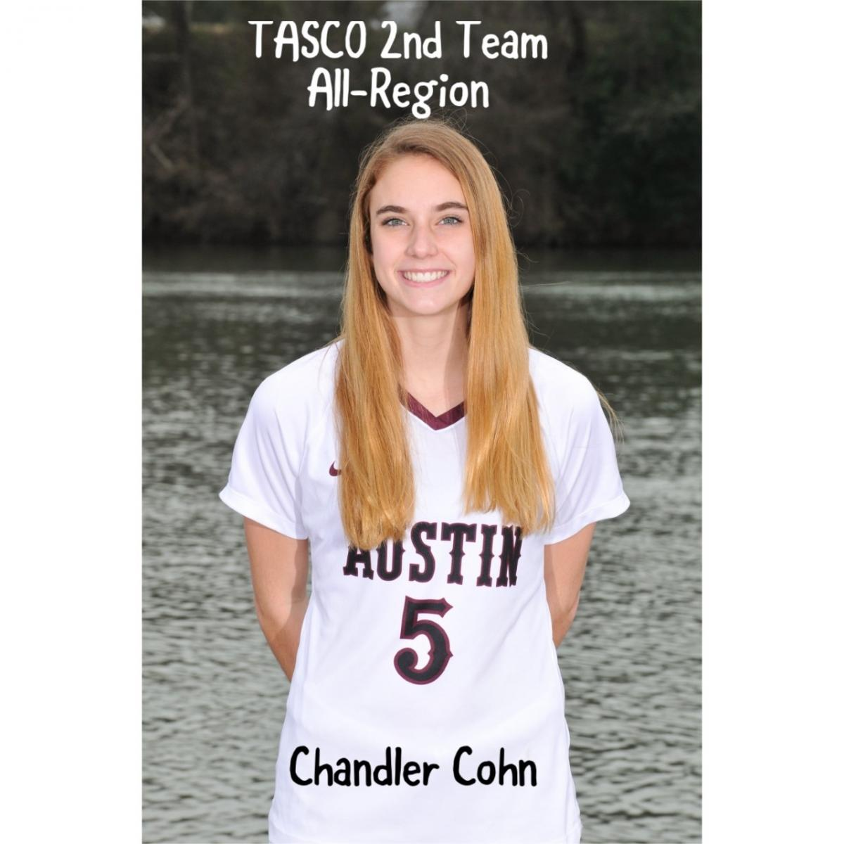 Chandler Cohn named to TASCO All-Region Team