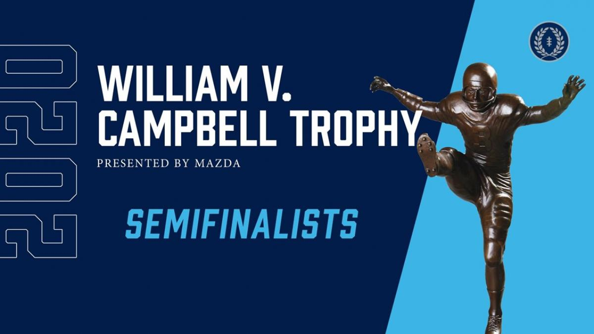 Two OVC Football Student-Athletes Named Semifinalists for 2020 William V. Campbell Trophy®