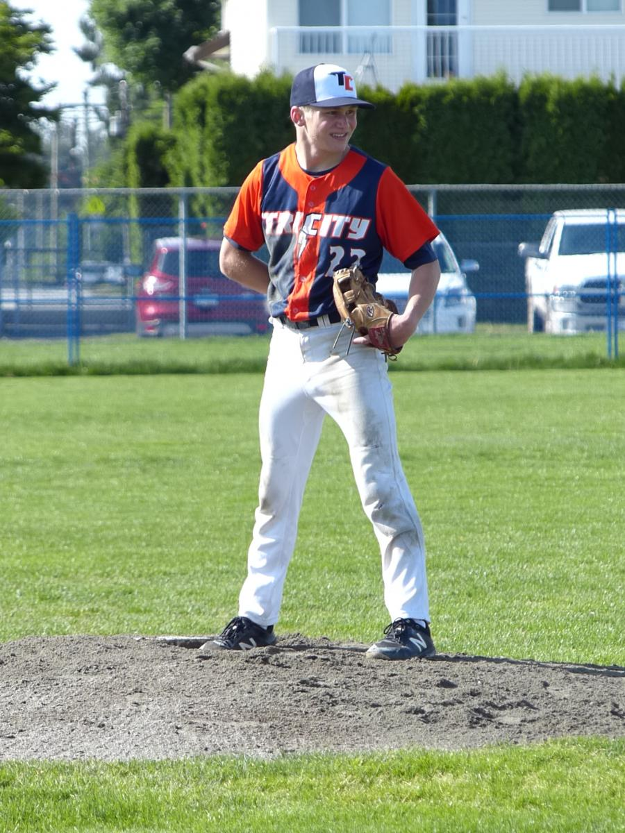 Thunder throw combined No Hitter Against Langley Township